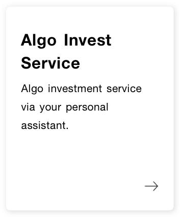 Algo Invest Service