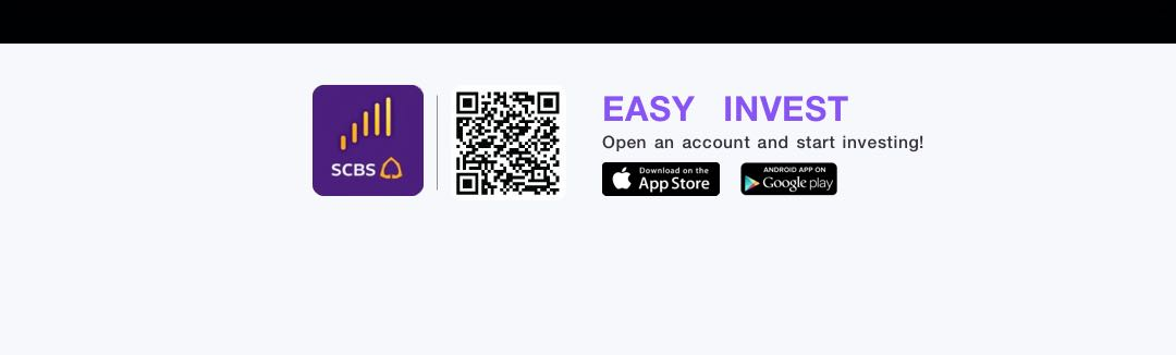 Open an account and start in-vesting on EASY INVEST applica-tion.